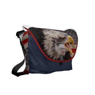 La bolsa de mensajero patriótica de la imagen de E Bolsa De Mensajeria
