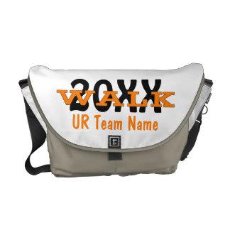 La bolsa de mensajero personalizada del paseo de l bolsas messenger