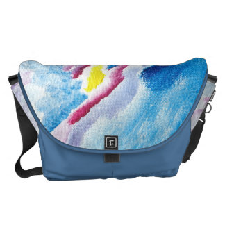 La bolsa de mensajero por colores felices bolsas messenger