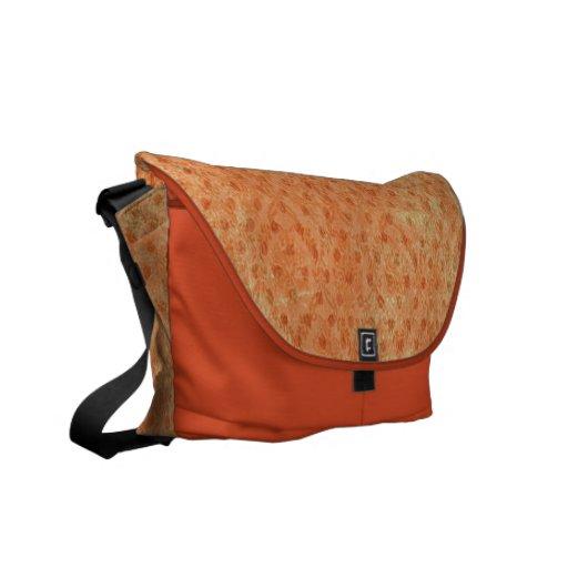 La bolsa de mensajero por encargo del carrito cero bolsas messenger