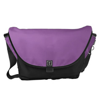 La bolsa de mensajero púrpura del carrito bolsa messenger