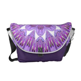 La bolsa de mensajero púrpura del carrito de la fl bolsas de mensajería