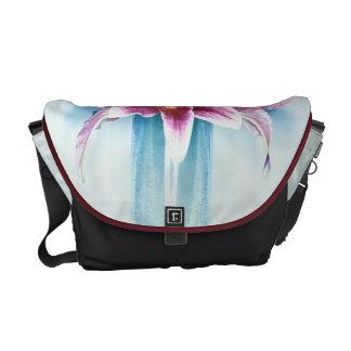 La bolsa de mensajero púrpura del carrito de Lilly Bolsas De Mensajeria