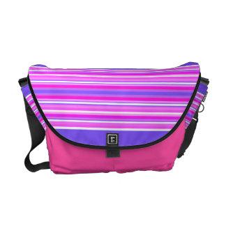 La bolsa de mensajero púrpura del medio de las ray bolsa messenger