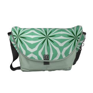 La bolsa de mensajero rayada del carrito del melón bolsa messenger