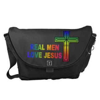 La bolsa de mensajero real de Jesús del amor de lo Bolsas Messenger