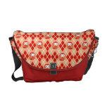 La bolsa de mensajero roja linda del modelo de Arg Bolsas De Mensajería
