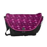 La bolsa de mensajero rosada del dinosaurio bolsa de mensajería