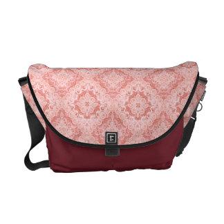 La bolsa de mensajero rosada del remolino del bolsa de mensajería