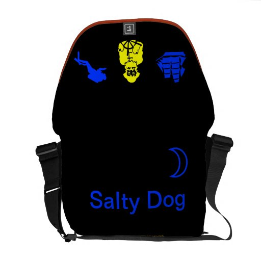 La bolsa de mensajero salada del carrito del perro bolsa de mensajeria