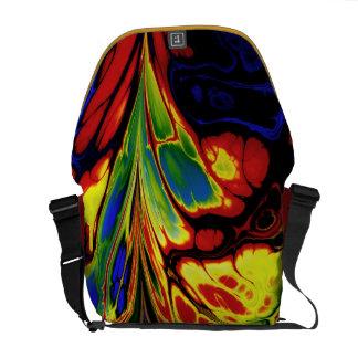 La bolsa de mensajero Salvaje-y-Loca del diseño de Bolsas De Mensajeria