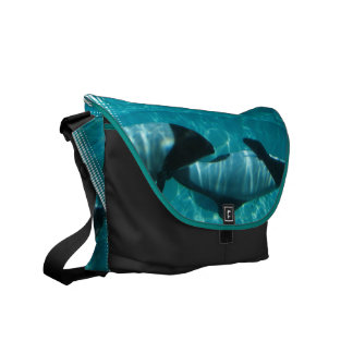 La bolsa de mensajero subacuática de las ballenas bolsa de mensajeria