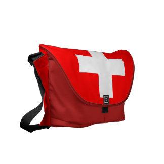La bolsa de mensajero suiza del carrito de la band bolsas messenger