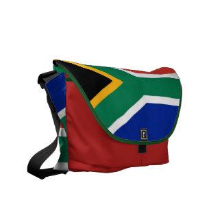 La bolsa de mensajero surafricana del carrito de l bolsa de mensajería