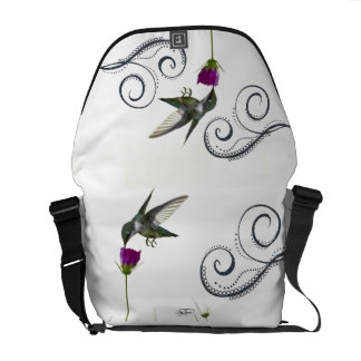 La bolsa de mensajero tote del carrito del ángel d bolsa de mensajeria