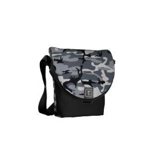 La bolsa de mensajero urbana del carrito del camuf bolsas de mensajeria