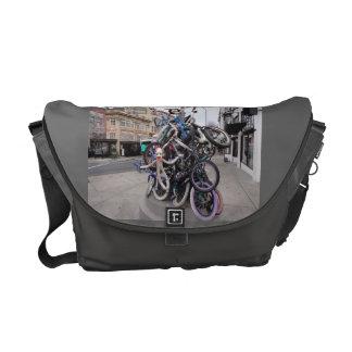 La bolsa de mensajero w Portland O foto de la bici Bolsas De Mensajería