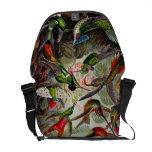 La bolsa de mensajero zoológica de la impresión de bolsas de mensajeria