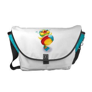 La bolsa de pañales con Edgar el pato Bolsa De Mensajeria