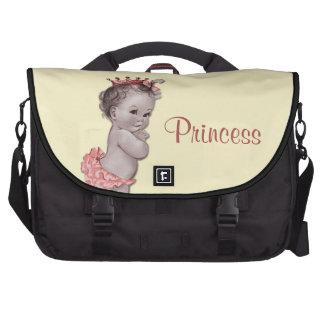 La bolsa de pañales de princesa Baby del vintage Bolsa Para Ordenador