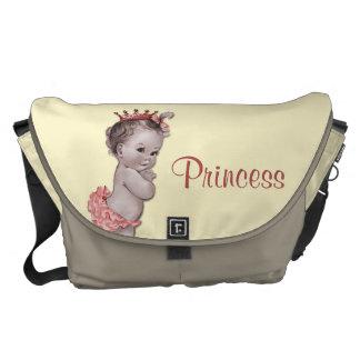 La bolsa de pañales de princesa Baby del vintage Bolsas De Mensajería
