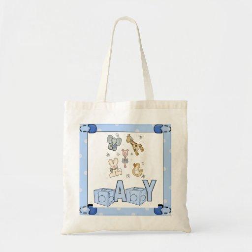 La bolsa de pañales del bebé del tema de los anima