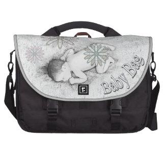 La bolsa de pañales del ordenador portátil del beb bolsa de ordenador