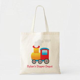 La bolsa de pañales del tren
