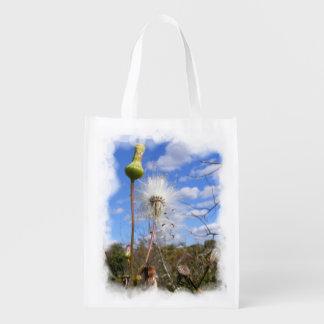 La bolsa de poliéster del ~ del cardo de cerda bolsa reutilizable