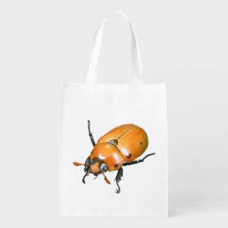 La bolsa de poliéster del ~ del escarabajo de la v bolsa para la compra
