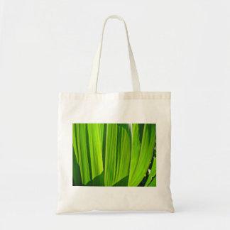 La bolsa de tres hojas verdes de mayo