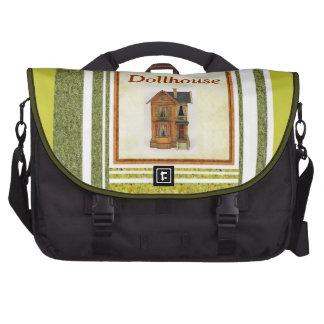 La bolsa de viaje antigua del ordenador portátil d bolsas de portátil