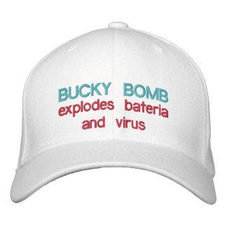 La BOMBA BUCKY estalla bacterias y BB del virus < Gorras De Beisbol Bordadas