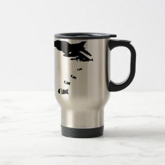 La bomba de F Taza De Café