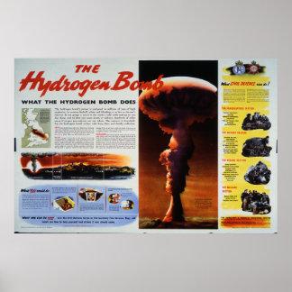 La bomba de hidrógeno póster