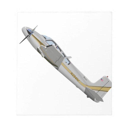 La bonanza gemela 452452 de Beechcraft J50 Bloc De Notas