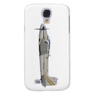 La bonanza gemela 452452 de Beechcraft J50 Funda Para Galaxy S4