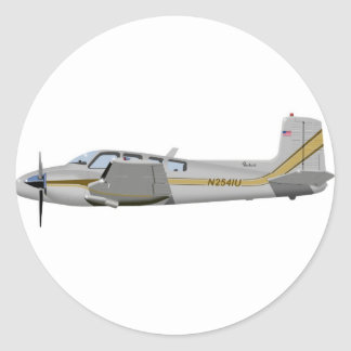 La bonanza gemela 452452 de Beechcraft J50
