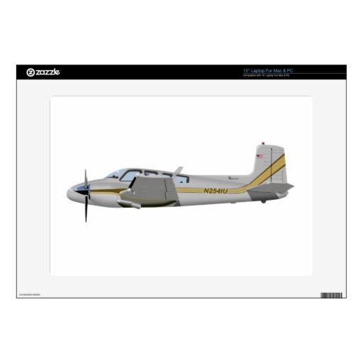 La bonanza gemela 452452 de Beechcraft J50 Portátil Skins