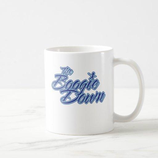 La boogie abajo taza de café
