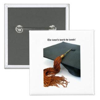 La borla digno de la graduación del molestia pins