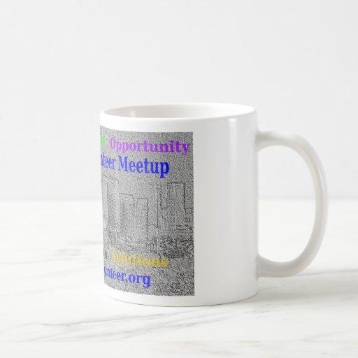 La Boston Meetup voluntario Tazas De Café