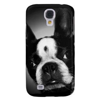 La Boston Terrier Funda Para Galaxy S4