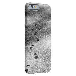 La bota imprime en caso delgado del iPhone 6 de la Funda Barely There iPhone 6