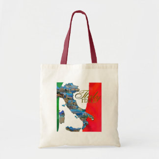 "La ""bota italiana "" bolsa tela barata"