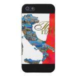 "La ""bota italiana "" iPhone 5 carcasas"