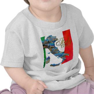 "La ""bota italiana "" camisetas"