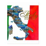"La ""bota italiana "" postal"