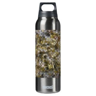 La botella de agua de aluminio de la alga marina