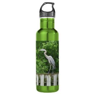 La botella de agua de aluminio de la garza, BPA